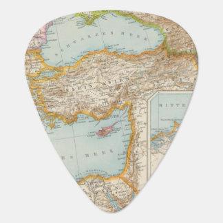 Médiators Carte méditerranéenne orientale