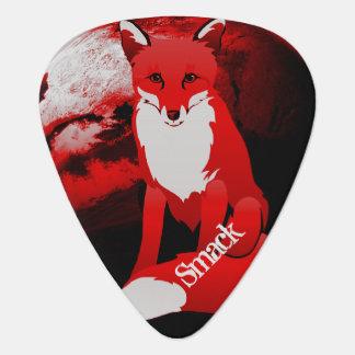 Médiators Conception de Fox rouge personnalisée