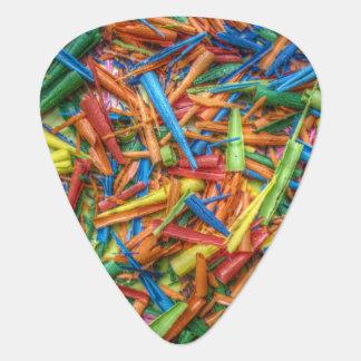 Médiators Copeaux colorés de crayon