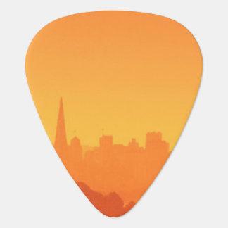 Médiators Coucher du soleil lumineux de San Francisco