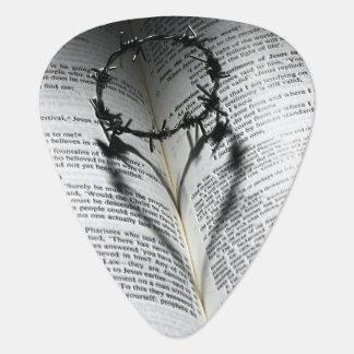Médiators Couronne des épines coeur et bible