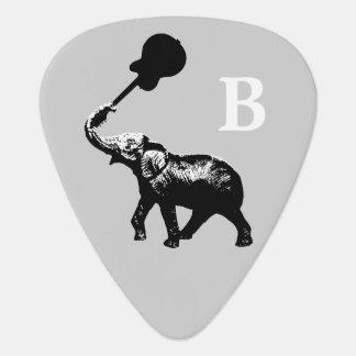 Médiators coutume sauvage et fraîche, noire d'éléphant