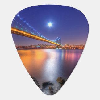 Médiators Crépuscule, George Washington BridgePalisades, NJ.