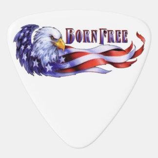 Médiators Eagle chauve libre né et drapeau des Etats-Unis