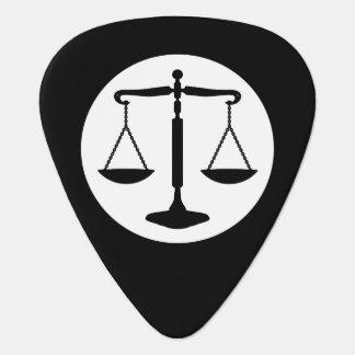 Médiators Échelles décoratives du monogramme   de justice