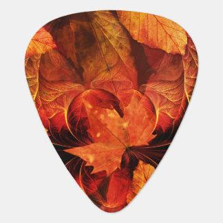 Médiators En feu avec de belles couleurs d'automne de