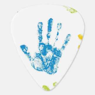Médiators Enfants Handprints en peinture