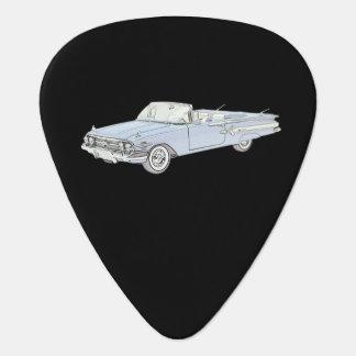 Médiators Illustration 1960 de convertible d'impala de Chevy