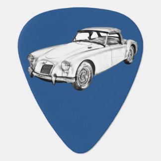 Médiators Illustration convertible de voiture de sport de MG