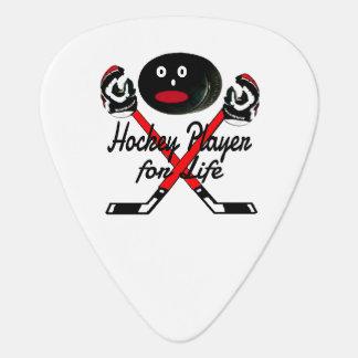 Médiators Joueur de hockey pour la bande dessinée de la vie
