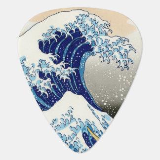 Médiators La grande vague outre de Kanagawa Katsushika