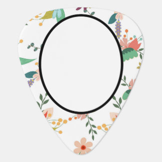 Médiators Le folklore   floral ajoutent le nom, monogramme,