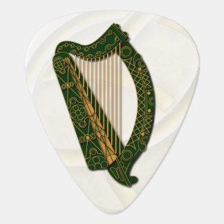 Médiators Le manteau d'Irland de l'harpe de bras - PIC de