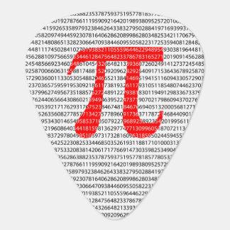 Médiators Le nombre rouge pi est un symbole de constante