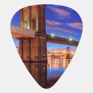 Médiators L'East River, pont de Brooklyn, Manhattan