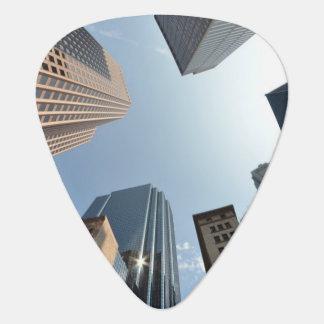 Médiators lentille de Poisson-oeil du bâtiment, Boston, USA