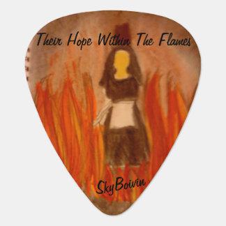 Médiators leur espoir dans l'onglet de guitare de flammes