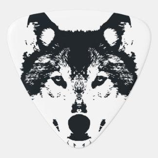 Médiators Loup noir d'illustration
