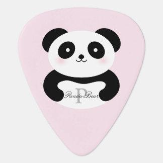 Médiators L'ours panda Girly mignon de bébé ajoutent votre