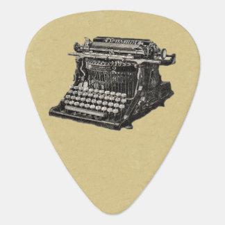 Médiators Machine à écrire démodée noire antique vintage