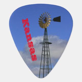 Médiators Moulin à vent du Kansas avec l'onglet de guitare