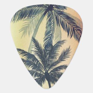 Médiators Palmettes tropicales