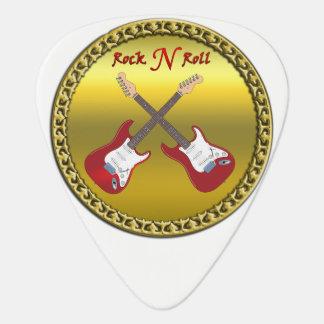 Médiators Petit pain de la roche N avec les guitares