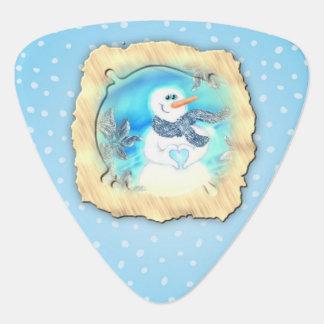 Médiators Quelqu'un vous aime bonhomme de neige émotif