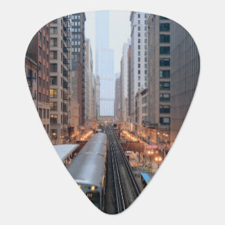 Médiators Rail élevé Chicago du centre au-dessus de Wabash