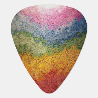Médiators Rayures colorées par arc-en-ciel d'écoulement
