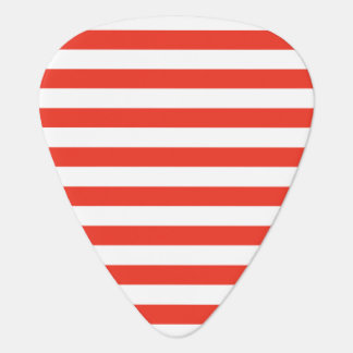 Médiators Rayures rouges horizontales