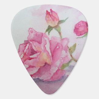 Médiators Rose de rose d'aquarelle