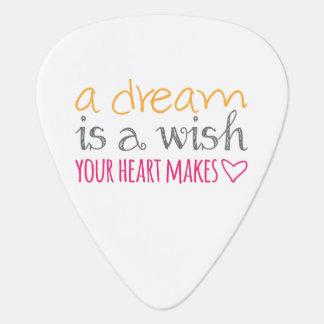 Médiators Un rêve est un souhait que votre coeur fait