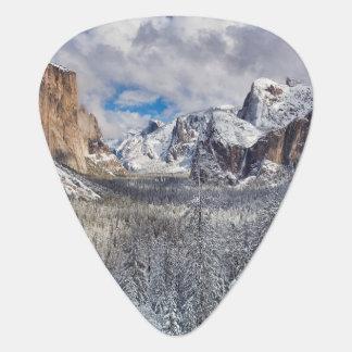 Médiators Vallée de Yosemite dans la neige