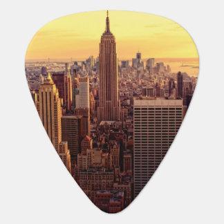 Médiators Ville d'horizon de New York avec l'état d'empire