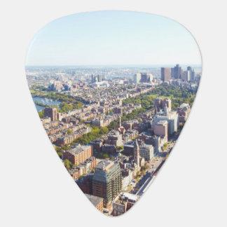 Médiators Vue aérienne de Boston