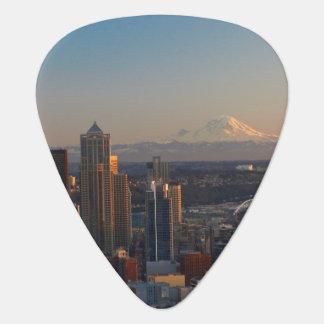 Médiators Vue aérienne de l'horizon 2 de ville de Seattle
