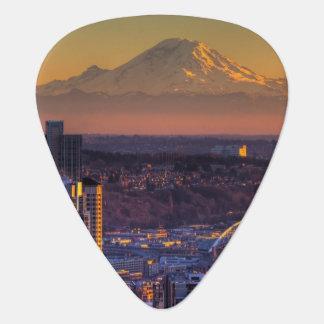 Médiators Vue de paysage urbain de Seattle du centre, le