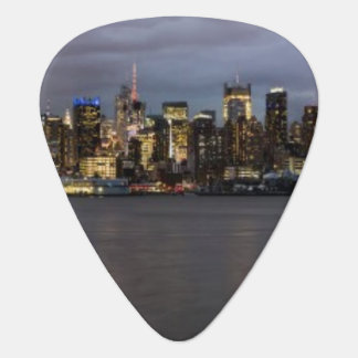 Médiators Vue panoramique de début de soirée de Manhattan