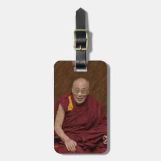 Méditation bouddhiste Yog de bouddhisme de Dalai Étiquette À Bagage