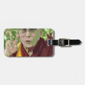 Méditation bouddhiste Yog de bouddhisme de Dalai Étiquette Pour Bagages