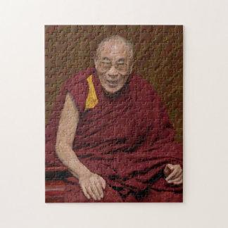 Méditation bouddhiste Yog de bouddhisme de Dalai Puzzle