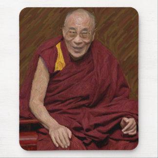 Méditation bouddhiste Yog de bouddhisme de Dalai Tapis De Souris