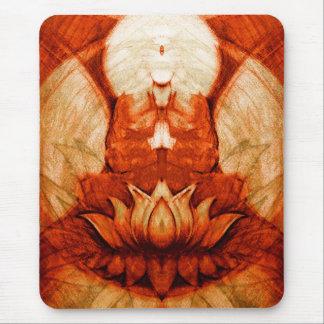 Méditation Lotus Tapis De Souris