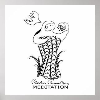 Meditation, poster