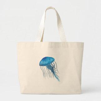 Méduses bleues grand tote bag