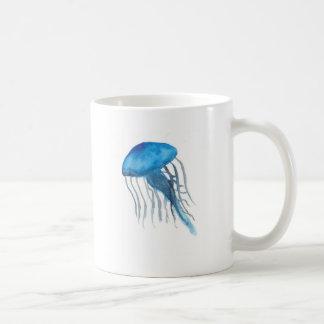 Méduses bleues mug