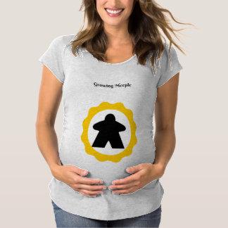 Meeple croissant T-Shirt de maternité