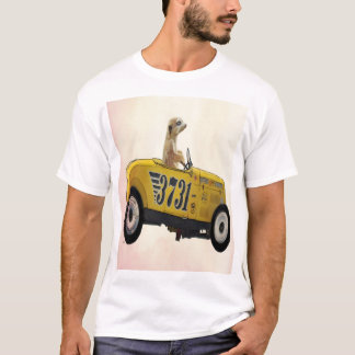 Meerkat dans le hot rod 3 t-shirt
