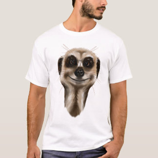 Meerkat font face à des chemises t-shirt
